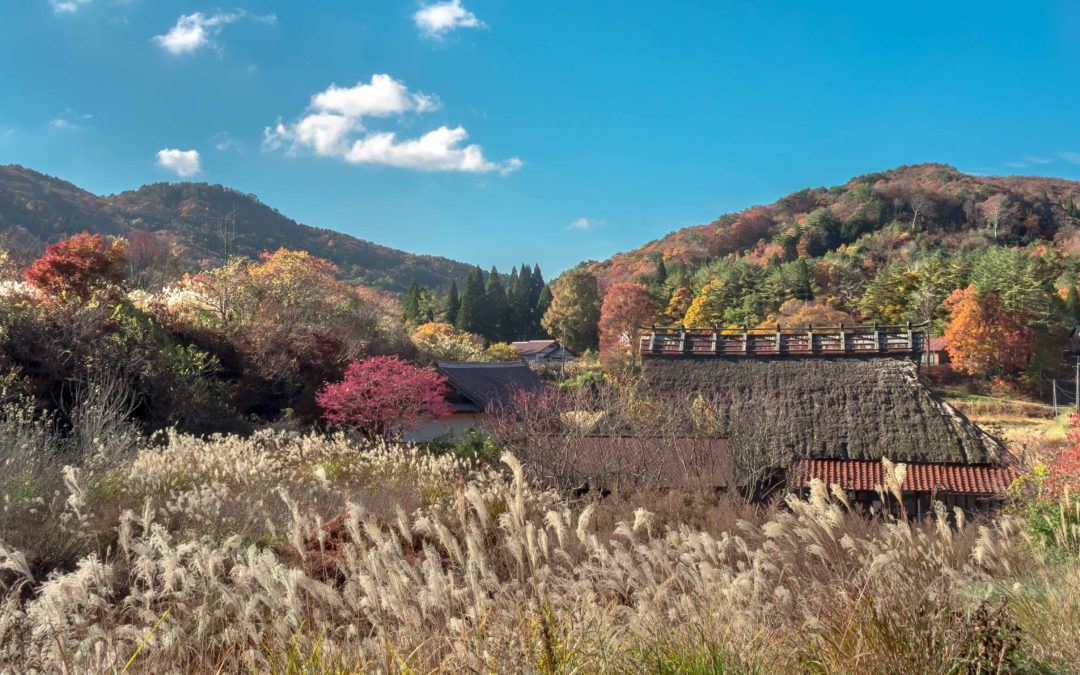 広島県山県郡安芸太田町小板の景色・風景 2018-11-05 14:51