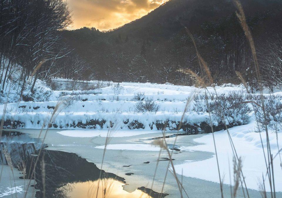 広島県山県郡安芸太田町小板の景色・風景 2018-12-30 08:24