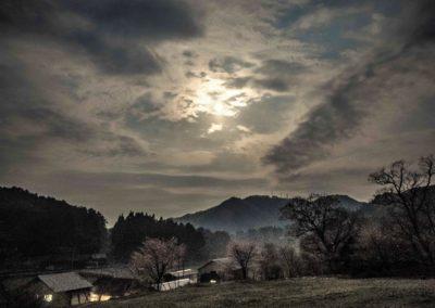 広島県山県郡安芸太田町小板の景色・風景 2018-04-30 03:43