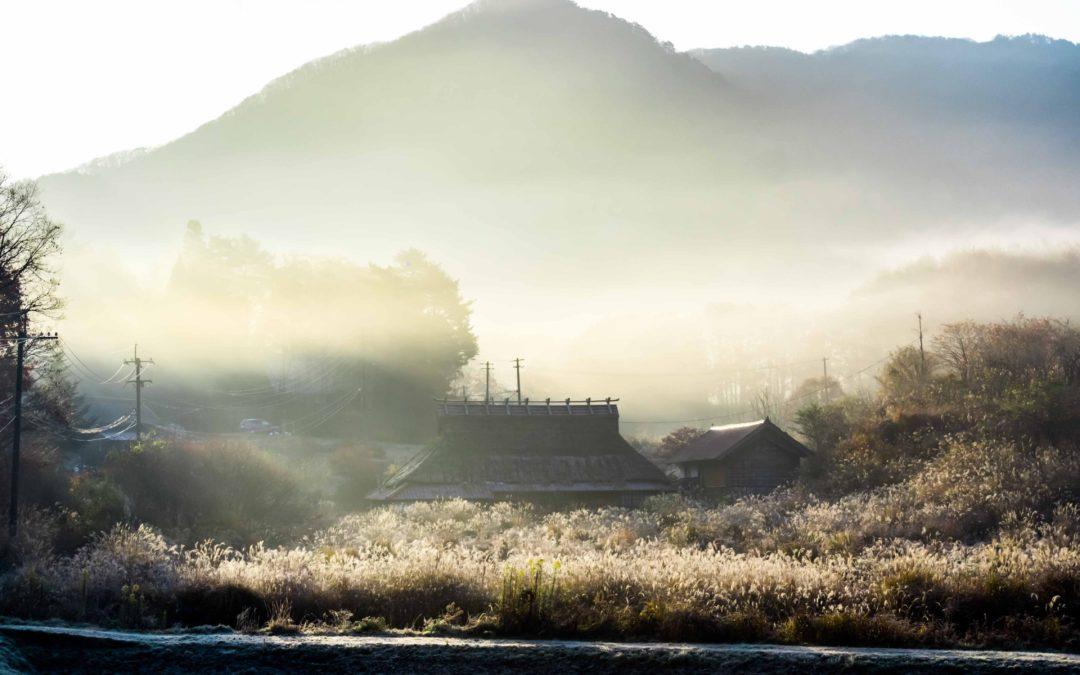 広島県山県郡安芸太田町小板の景色・風景 2018-11-07 07:49