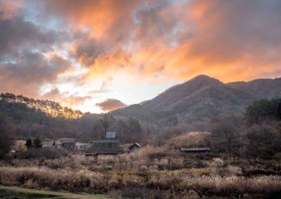広島県山県郡安芸太田町小板の景色・風景 2018-11-15 07:08