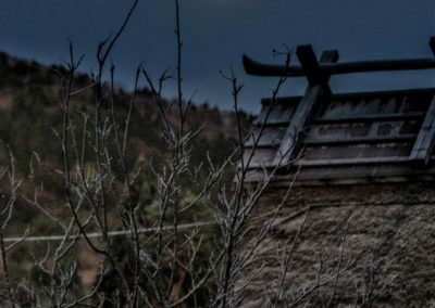 広島県山県郡安芸太田町小板の景色・風景 2018-11-24 06:55