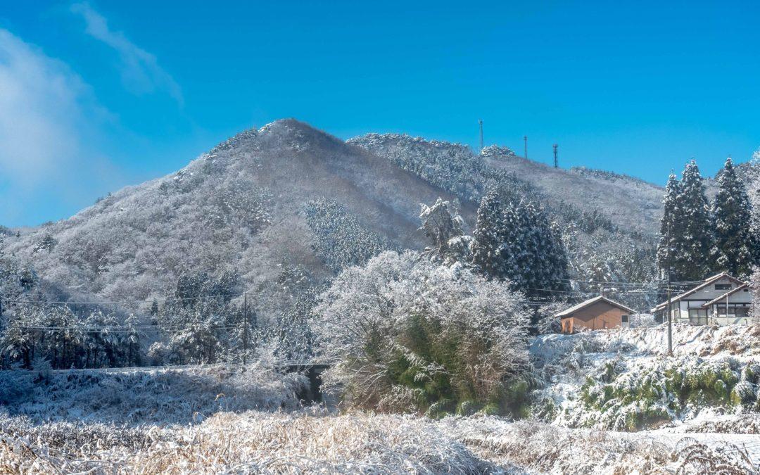 広島県山県郡安芸太田町小板の景色・風景 2018-12-19 09:49